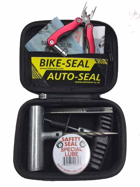BIKESEAL 6 plug kit with multi-tool
