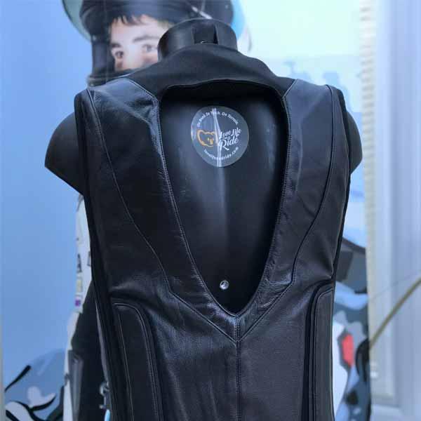 Black Stealth Race Airbag Vest
